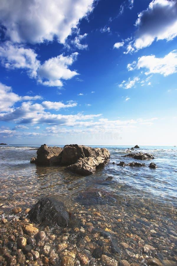 japoński morze zdjęcie royalty free