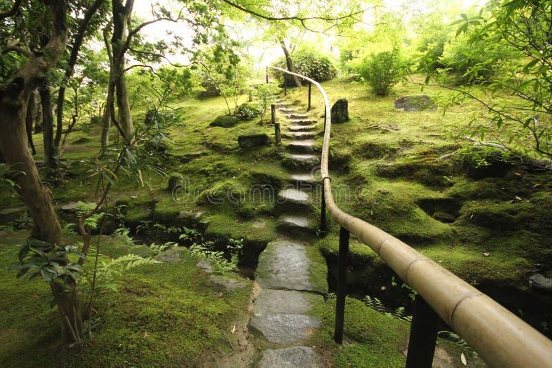 japoński ogród zen zdjęcie royalty free