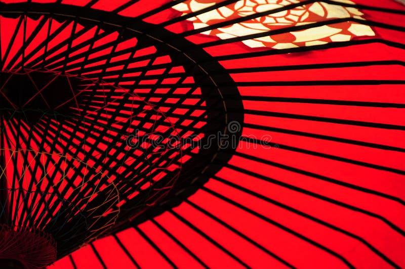 japoński parasol zdjęcie royalty free