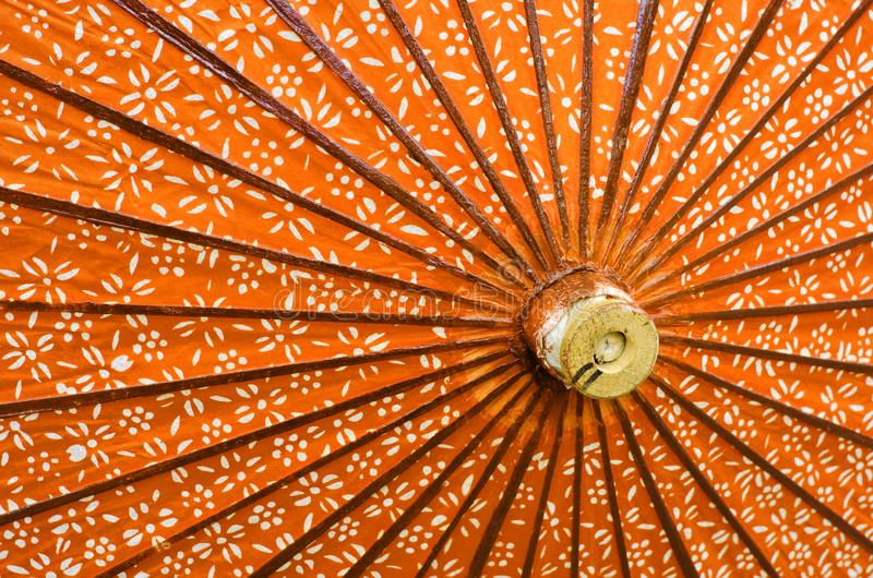 Japoński parasol w górę fotografia royalty free