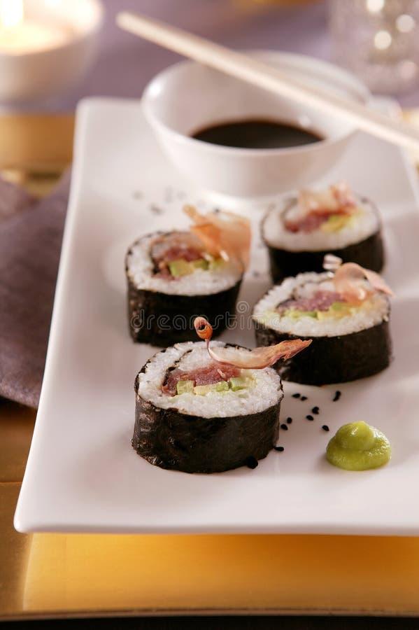 japoński sushi fotografia stock