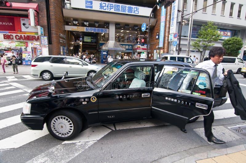 Japoński taxi zdjęcia stock