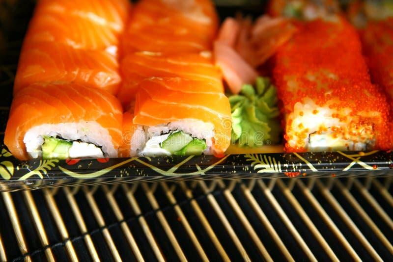 japoński tradycyjne jedzenie sushi obrazy royalty free