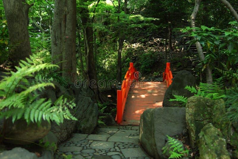 Japoński Tradycyjny ogród fotografia stock