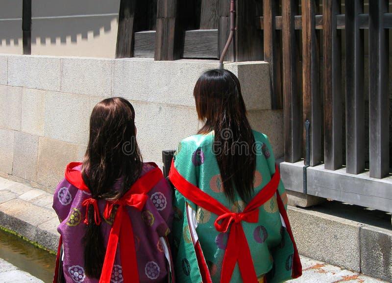 japońskie dziewczyny zdjęcie royalty free