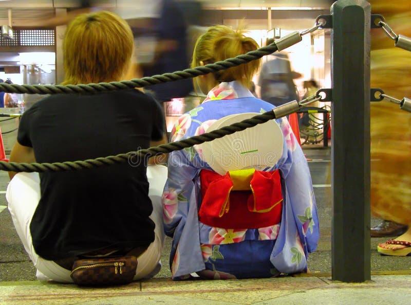 japońskie nastolatki obraz stock