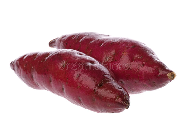japońskie słodkie ziemniaki fotografia stock