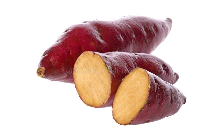 japońskie słodkie ziemniaki zdjęcia royalty free