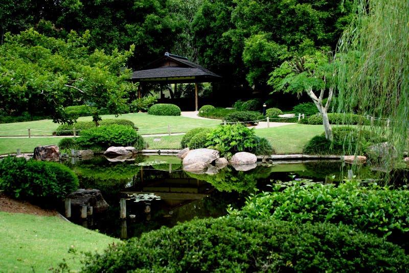 Japoński Ogród Zdjęcie Stock
