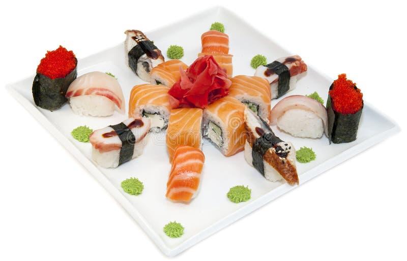 Download Japoński suszi obraz stock. Obraz złożonej z odżywczy - 28959549