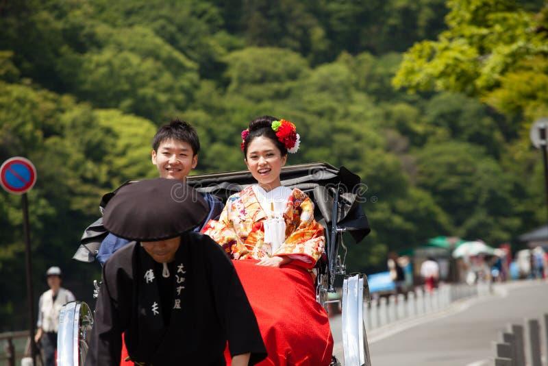 Japonés pre que se casa fotos de archivo