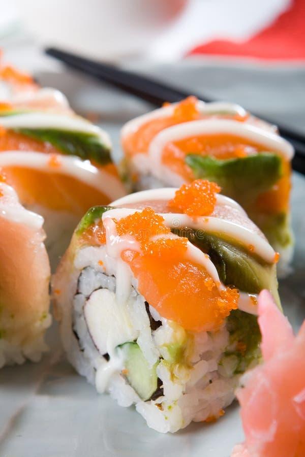 Japonês do sushi imagens de stock royalty free