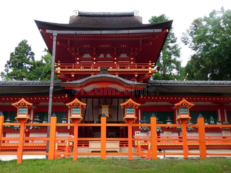 JAPON estrechez Templo Kasuga Taisha fotografía de archivo libre de regalías