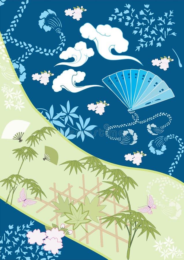 Japonais des éléments III de conception image libre de droits