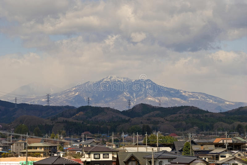 Japonia Alps, Honshu, Japonia fotografia stock