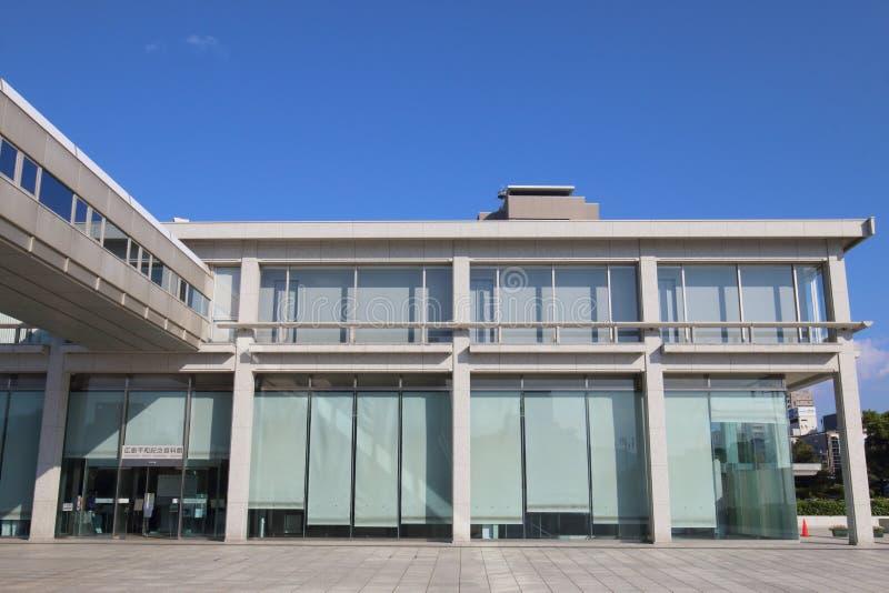 Japonia: Hiroszima pokoju pomnika muzeum zdjęcie royalty free