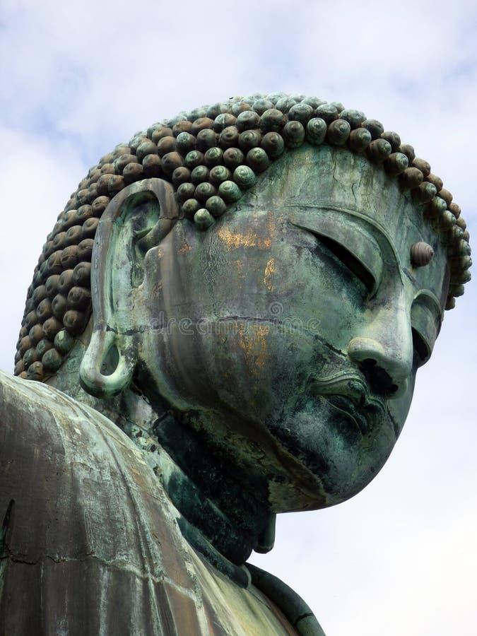 Japonia Kamakura Daibutsu Duży Buddha zdjęcia stock