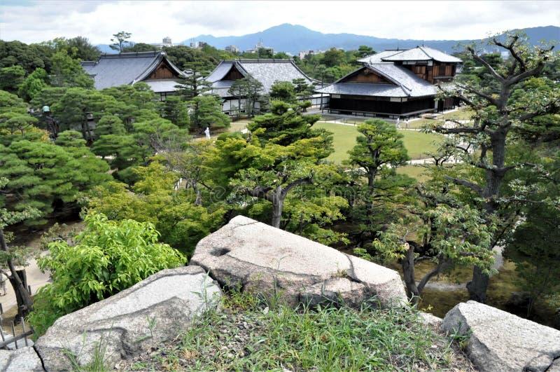 Japonia, Kyoto Nijo kasztel zdjęcia royalty free
