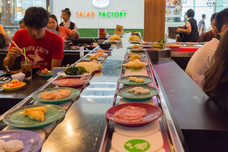 Japonia restauraci paska bufet zdjęcie stock