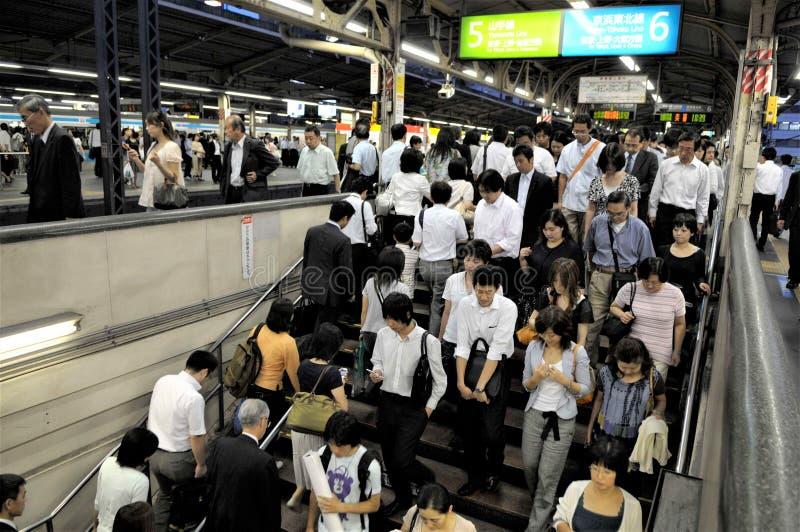 Japonia, Tokio metro obraz stock