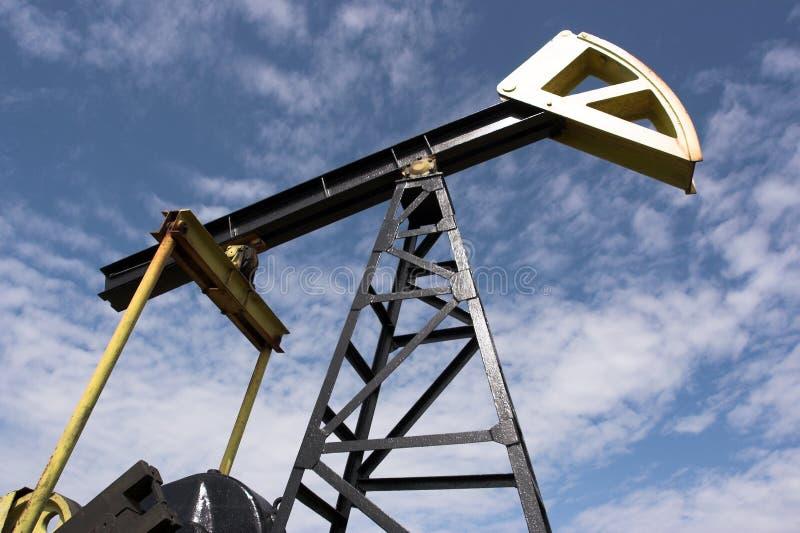 Jaque da bomba de petróleo fotografia de stock royalty free