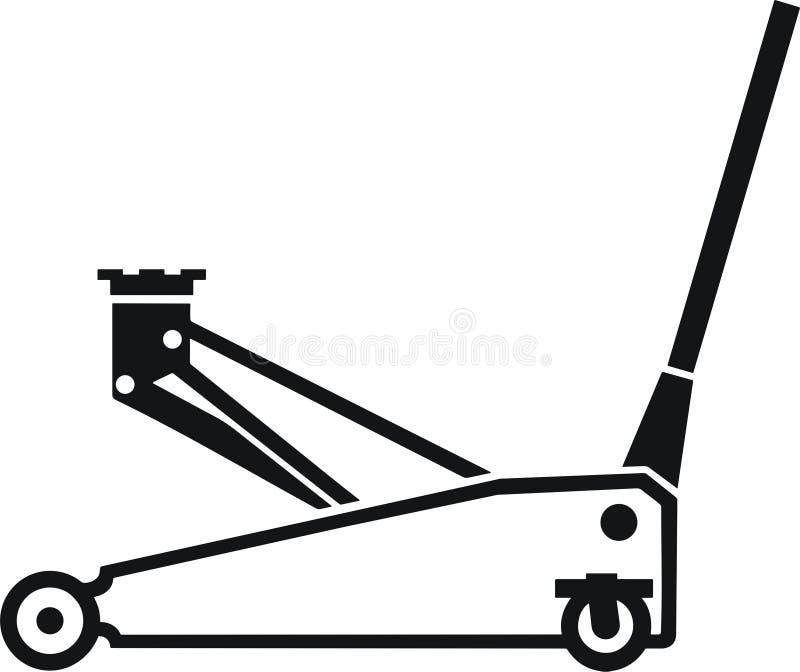 Jaque do carro ilustração do vetor