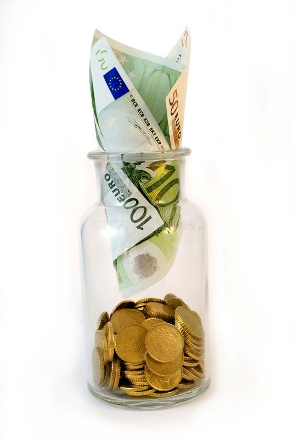 jar деньги стоковые изображения rf