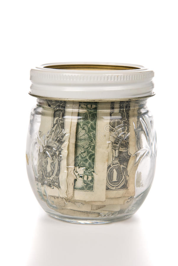 Download Jar Of Cash Stock Photos - Image: 11643433
