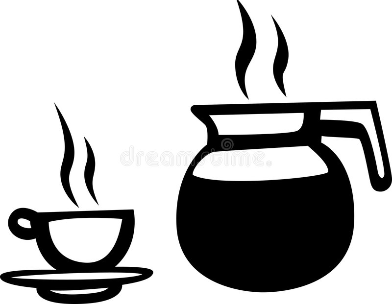 Download Jar of coffee stock vector. Image of bitter, pitcher, heat - 2077203