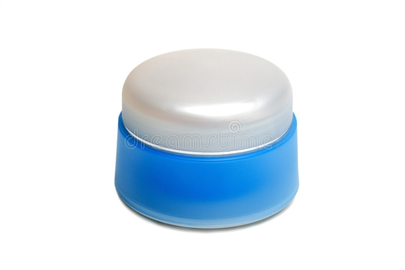 Jar for cosmetics royalty free stock photos