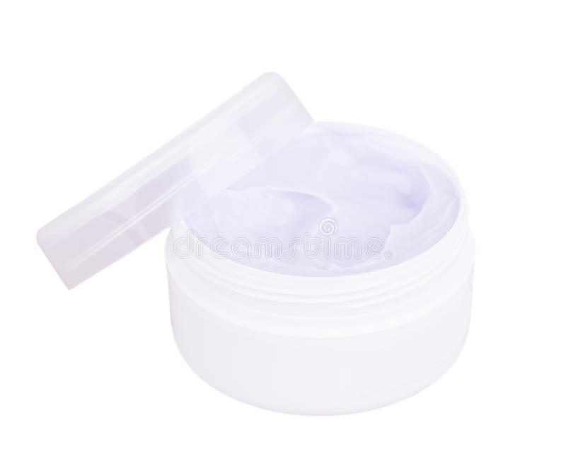 Jar of cream royalty free stock image