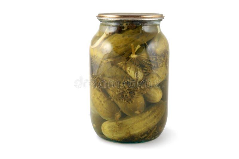 Download Jar of cucumber pickle stock image. Image of preserved - 11638257