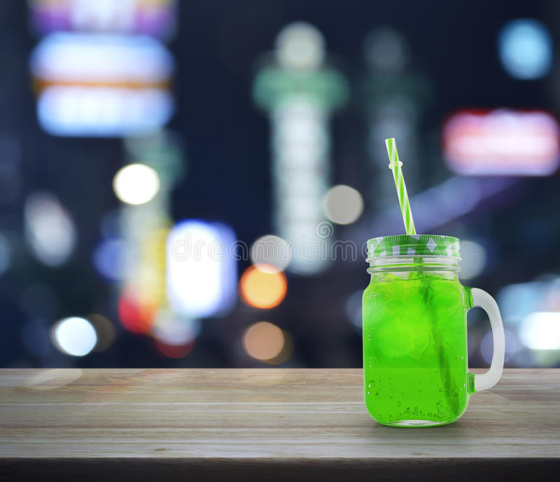 Green Bokeh From Tree Background Stock Photo