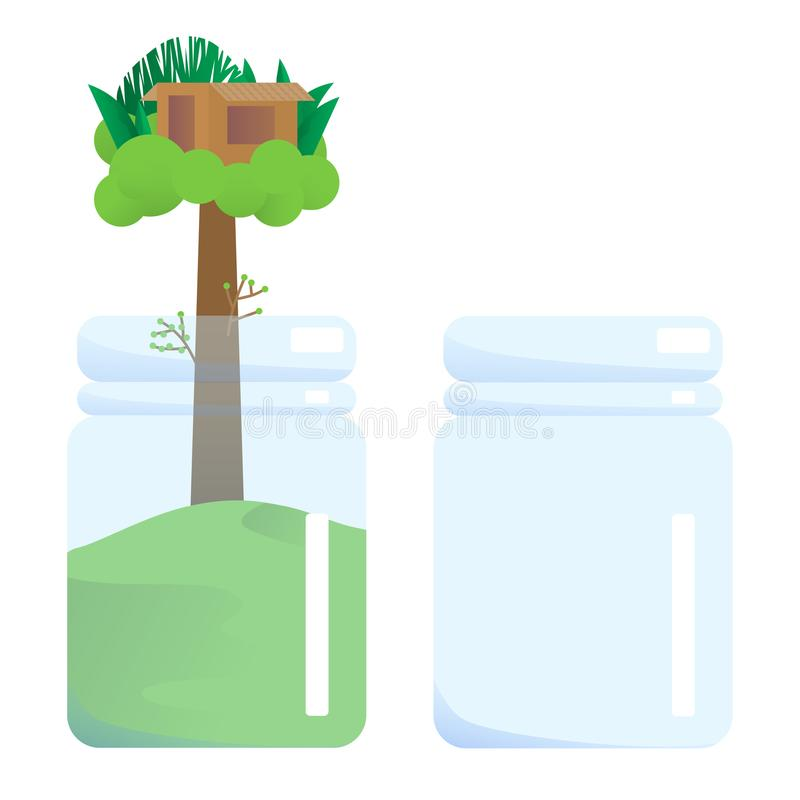 This is jar vector illustration