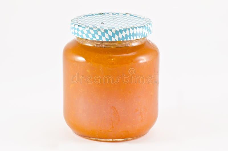 Jar of jam royalty free stock image
