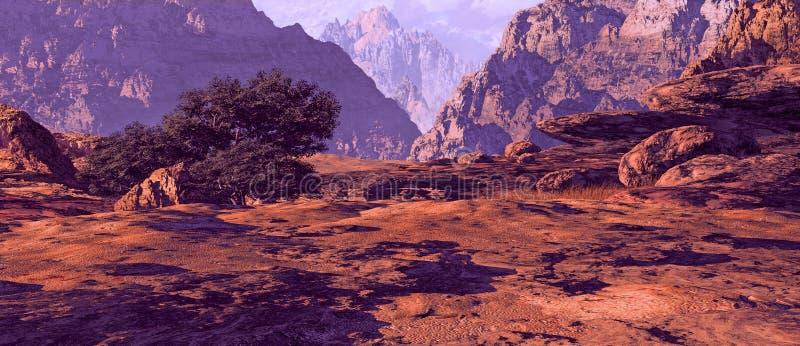 jar krajobrazowy Utah ilustracji