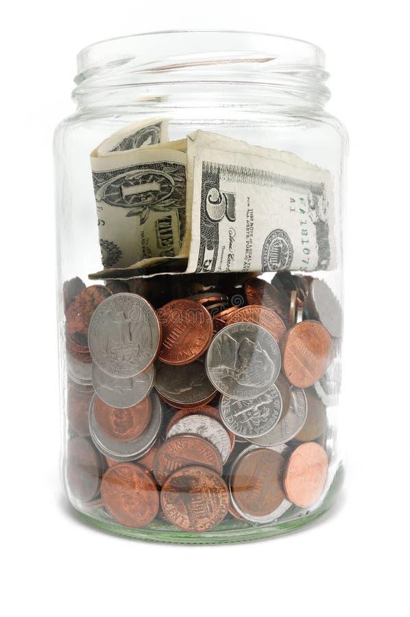 Free Jar Of Money Stock Photo - 12554980