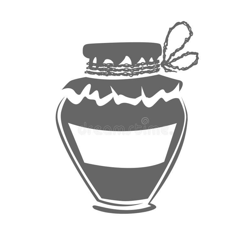 Jar silhouette stock photos