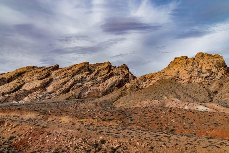 Jar skały Utah pustynia obrazy stock