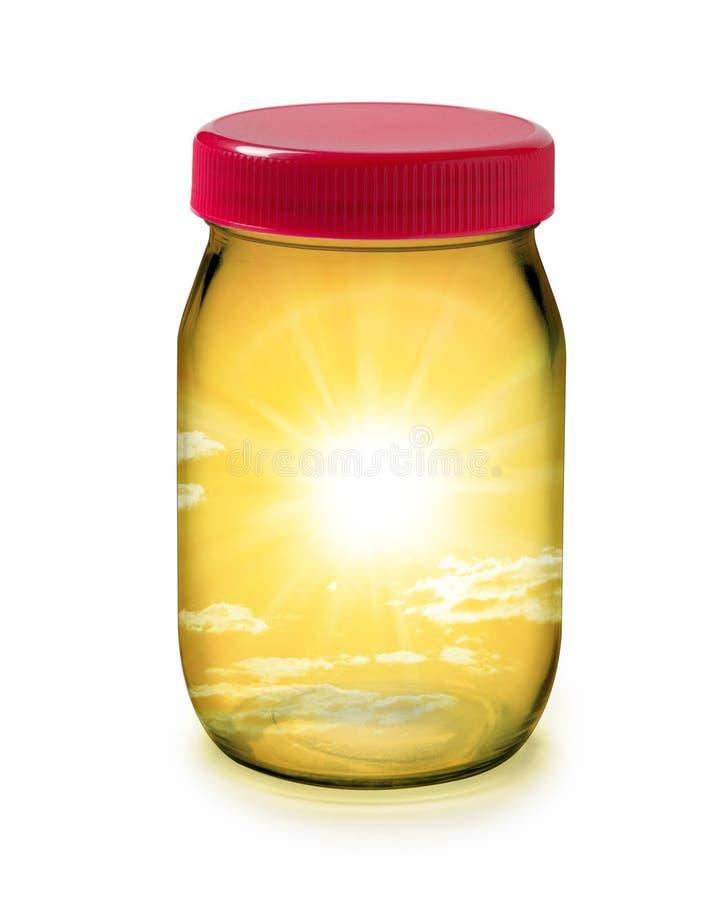 Download Jar Sun Solar Energy Sustainability Royalty Free Stock Photo - Image: 25555335