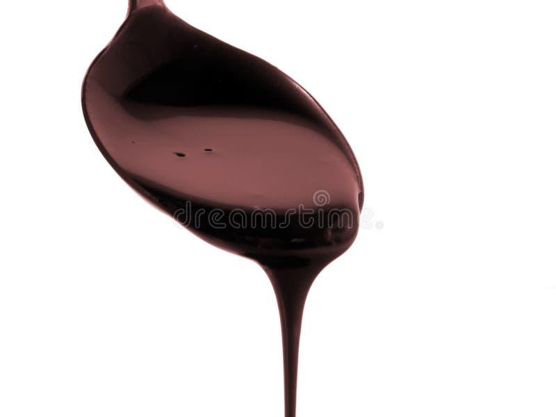 Jarabe de chocolate imagen de archivo libre de regalías
