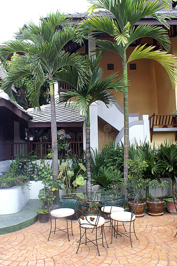 Download Jardín al aire libre foto de archivo. Imagen de relaje - 7284710
