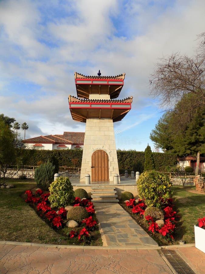 Jardín-Alhaurin-de-la-Torre oriental imagenes de archivo