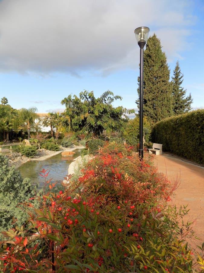 Jardín-Alhaurin-de-la-Torre oriental imágenes de archivo libres de regalías