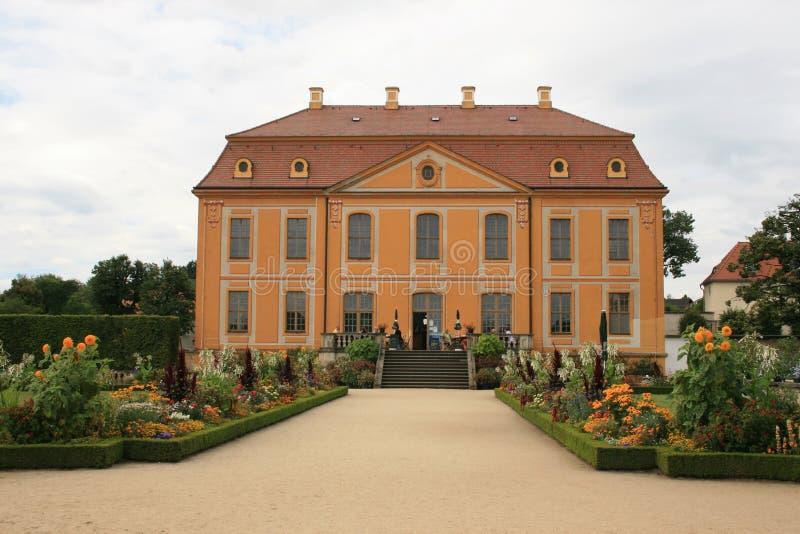 Jardín barroco foto de archivo