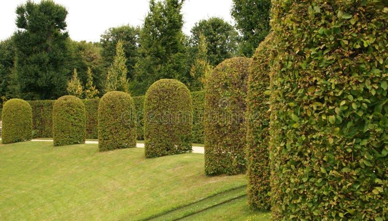 Jardín barroco fotografía de archivo