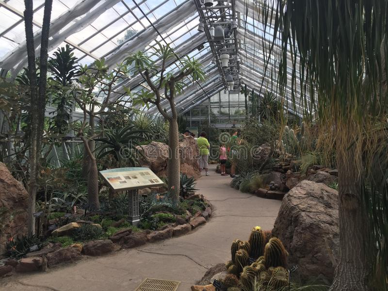 Jardín botánico de Estados Unidos fotos de archivo