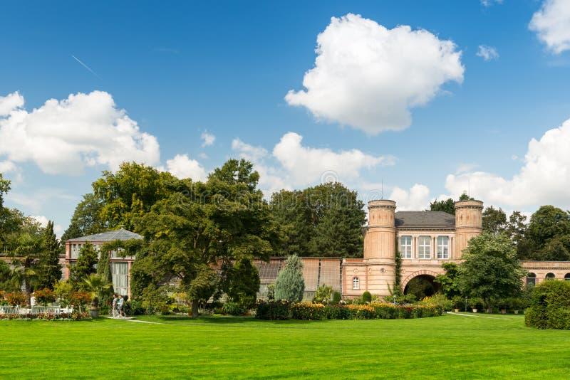 Jardín botánico de Karlsruhe imagen de archivo libre de regalías