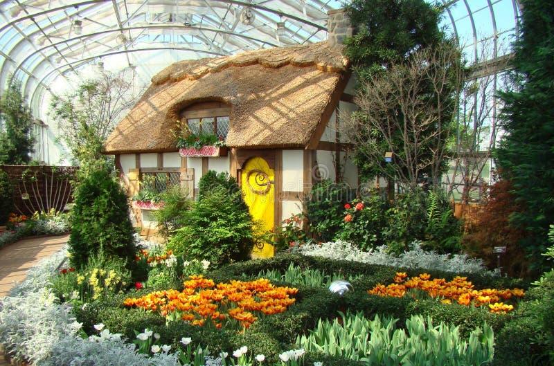 Jardín botánico de Lewis Ginter foto de archivo