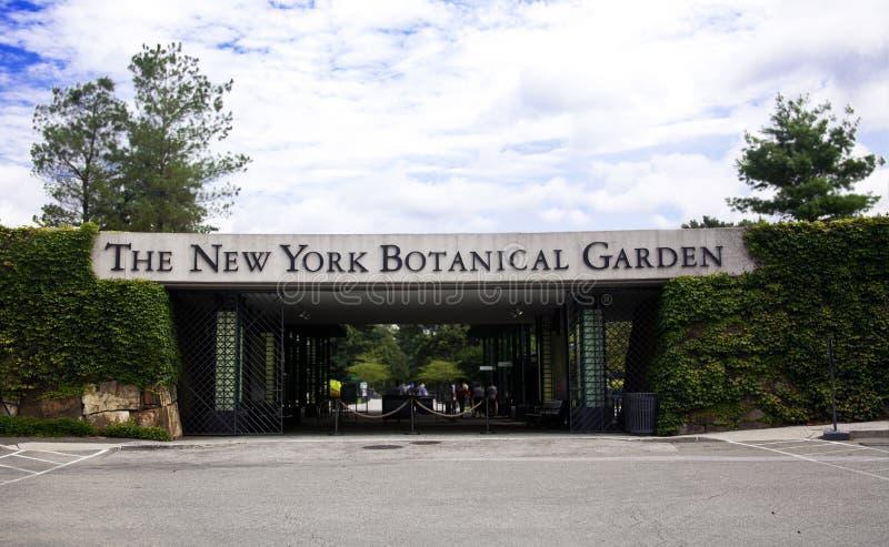 Jardín botánico de Nueva York fotos de archivo